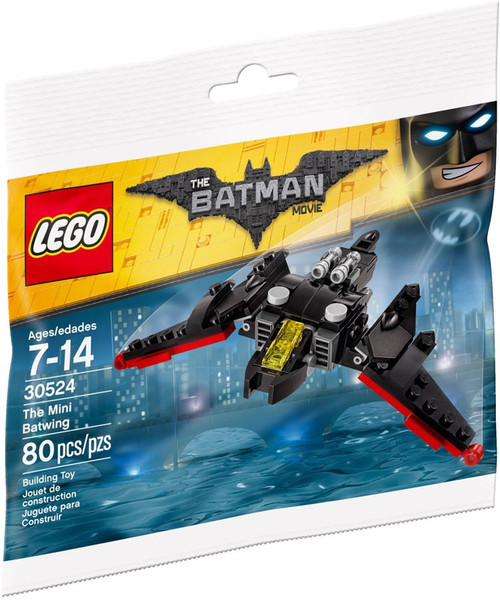 Lego DC The Batman Movie The Mini Batwing Set #30524