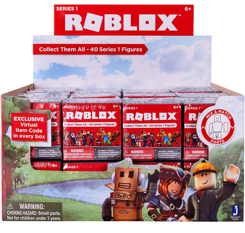 Toy Mystery Box : Roblox series mystery box packs jazwares toywiz