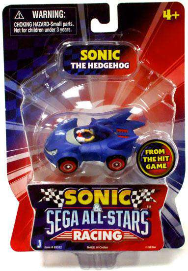 Sonic The Hedgehog Sega All-Stars Racing Sonic 1.5-Inch F...