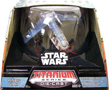 Star Wars The Clone Wars Titanium Series Ultra Vehicles R...