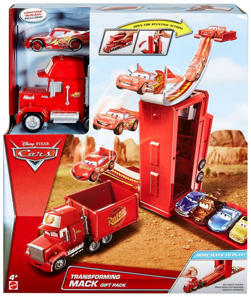 Disney Cars Transforming Mack Gift Pack [Includes McQueen]