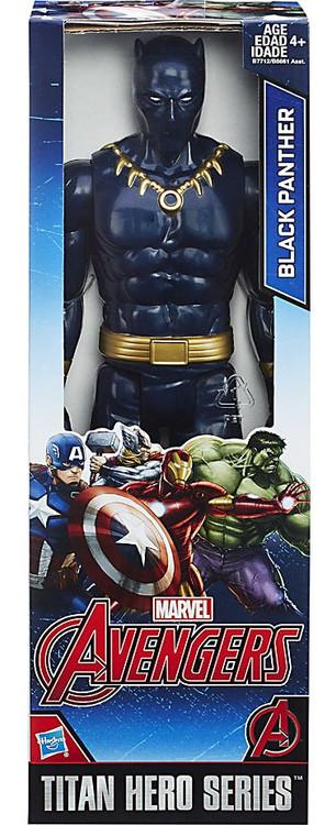 Marvel Avengers Titan Hero Series Black Panther 12 Action ...