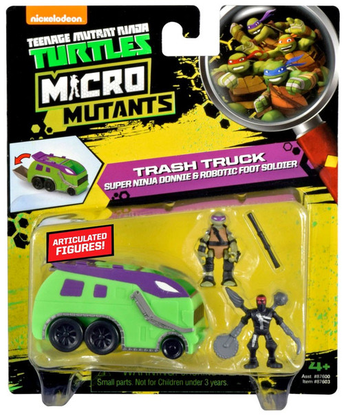 Teenage Mutant Ninja Turtles Nickelodeon Micro Mutants Tr...