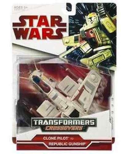 Hasbro Star Wars Transformers Crossovers 2009 Clone Pilot...