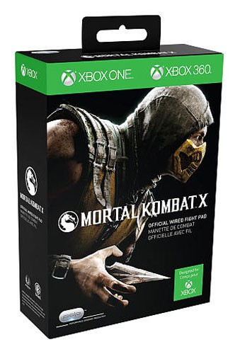 PDP Xbox 360 Wired Mortal Kombat X Video Game Controller