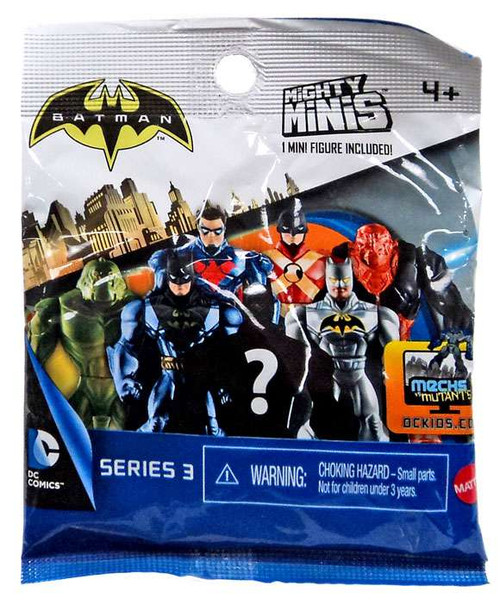 Mattel Mighty Minis Series 3 Batman Mystery Pack