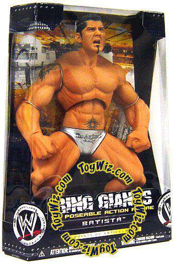 WWE Wrestling Ring Giants Series 4 Batista Action Figure ...
