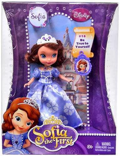 Disney Sofia the First Princess Sofia 5-Inch Doll [Damage...