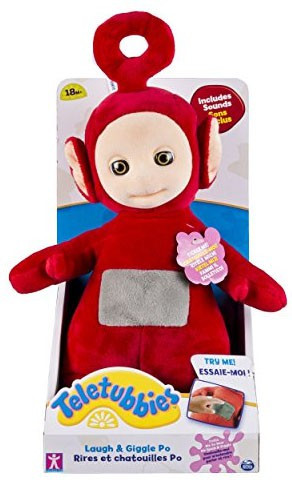 Spin Master Teletubbies Laugh & Giggle Po Plush with Sound