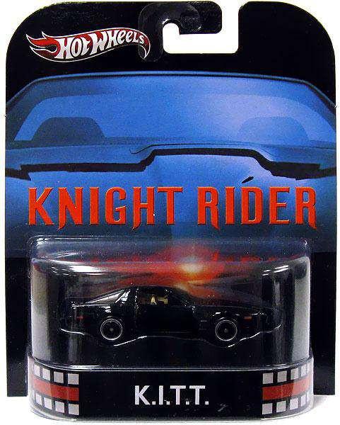 Knight Rider Hot Wheels Retro K.I.T.T. Diecast Vehicle [D...
