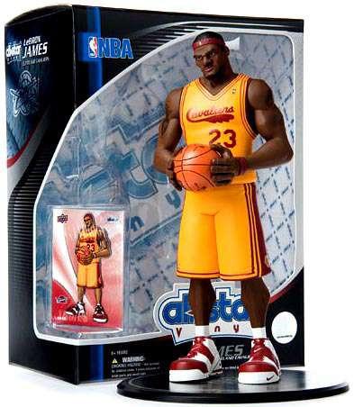 Upper Deck NBA All Star Vinyl Lebron James Cleveland Cava...
