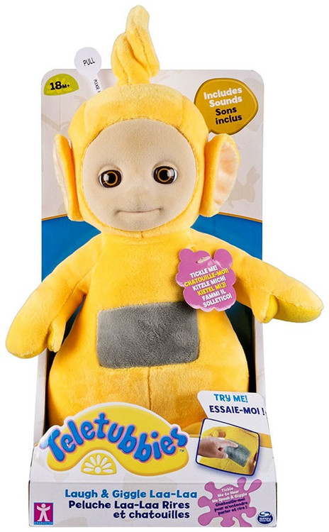 Spin Master Teletubbies Laught & Giggle Laa-Laa 10-Inch P...