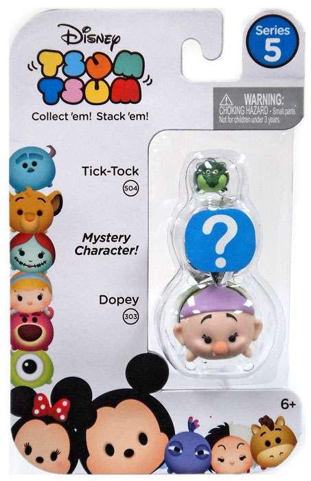 Jakks Disney Tsum Tsum Series 5 Tick-Tock & Dopey 1-Inch ...