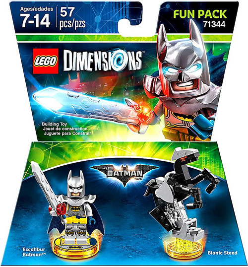 Lego Dimensions LEGO Batman Movie Excalibur Batman Exclus...