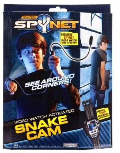 JAKKS Spy Net Real Tech Video Watch Activated Snake Cam