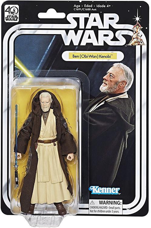 Hasbro Star Wars Black Series 40th Anniversary Wave 1 Ben...