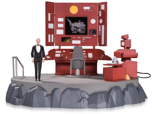 Dc Comics Batman The Animated Series Batcave with Alfred ...