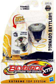 Beyblade XTS Tornado Battlers Tornado L-Drago Single Pack...
