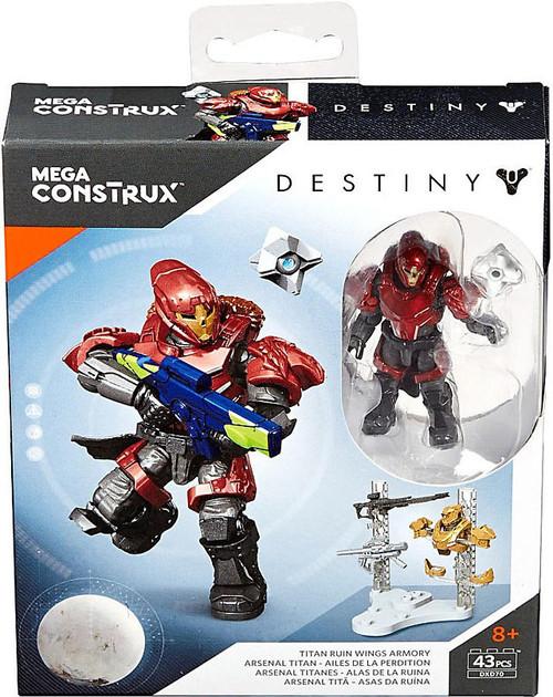 Mega Bloks Destiny Mega Construx Titan Ruin Wings Armory ...