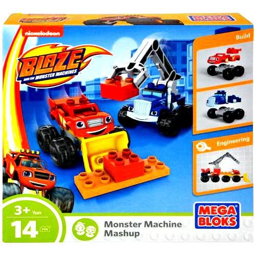 Hot Wheels Mega Bloks Blaze & the Monster Machines Monste...