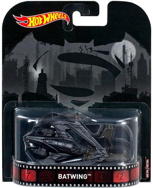 Mattel Hot Wheels Batman v Superman Retro Batwing Diecast...