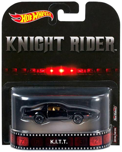 Mattel Hot Wheels Knight Rider Retro K.I.T.T. Diecast Car