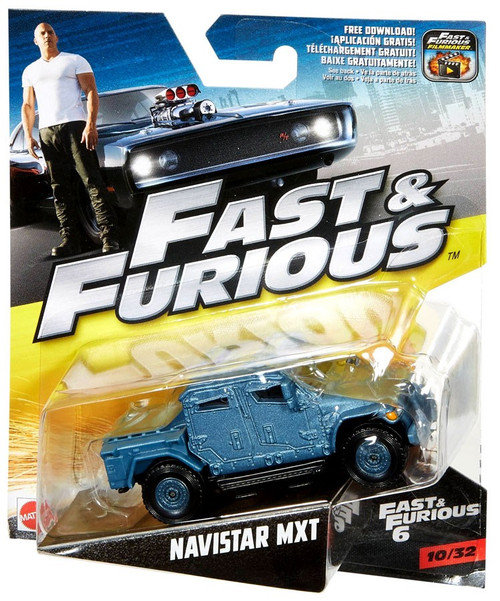 Hot Wheels The Fast and the Furious Fast & Furious 6 Navi...