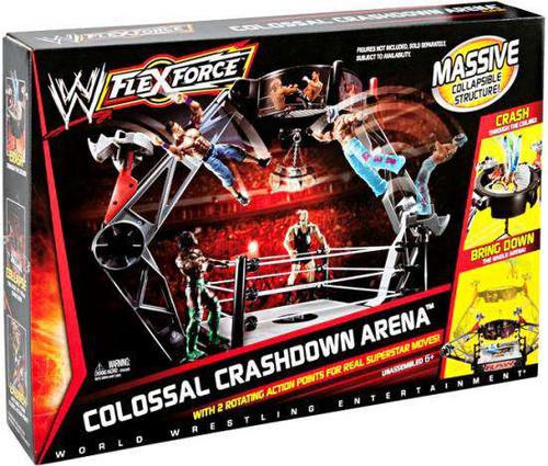 WWE Wrestling FlexForce Colossal Crashdown Arena Action F...