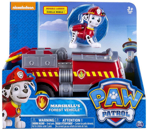 Spin Master Paw Patrol Marshall's Forest Vehicle Vehicle