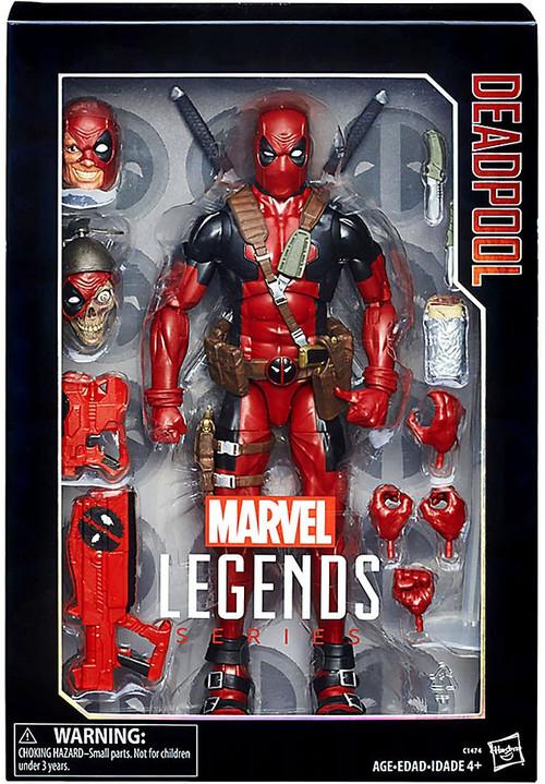 Hasbro Marvel Legends Deadpool Deluxe Collector Action Fi...