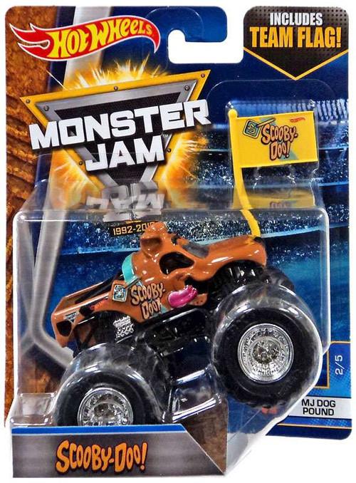 Mattel Hot Wheels Monster Jam 25 Scooby-Doo Diecast Car #...
