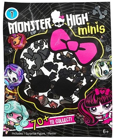 Mattel Monster High Minis Season 1 Mystery Box [Blind Bag]