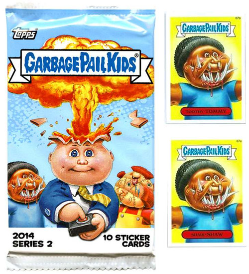 Topps Garbage Pail Kids 2014 Series 2 Set [Complete Base ...