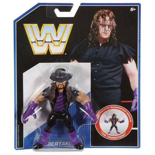 Mattel WWE Wrestling Retro Undertaker Action Figure
