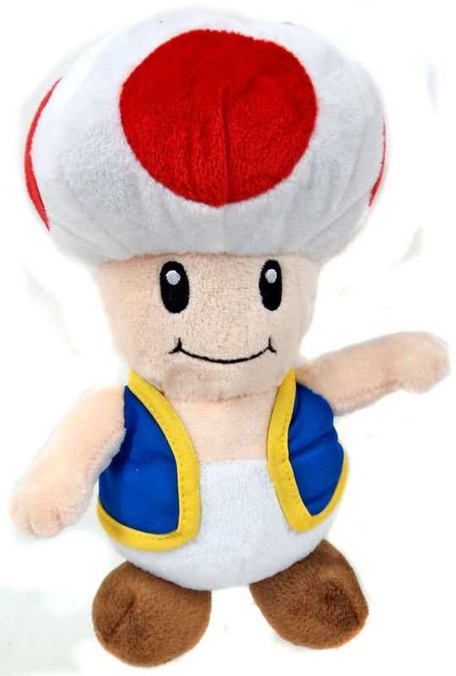 Super Mario Toad 9 Plush Good Stuff Toys Toywiz