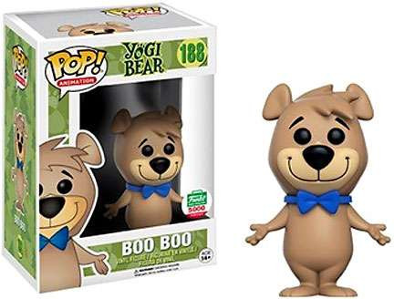 FUNKO INC. Yogi Bear POP Animation Boo Boo Exclusive Viny...