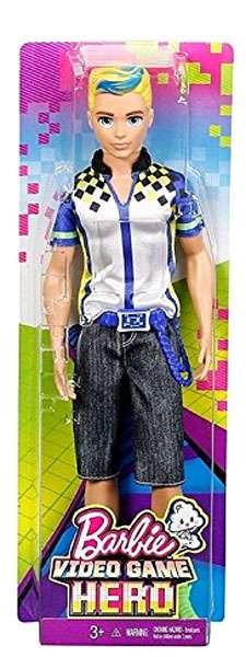 Mattel Barbie Video Game Hero Ken Doll