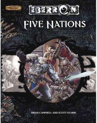 Wizards Of The Coast Dungeons & Dragons d20 Eberron Five ...