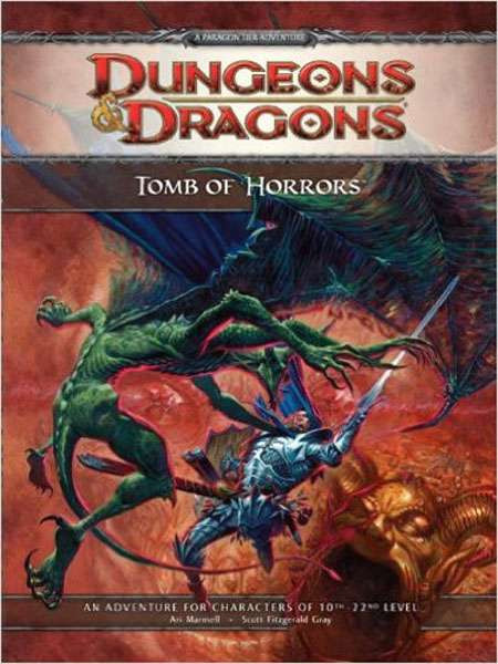 Baker & Taylor Dungeons & Dragons D&D 4th Edition Tomb of Horrors