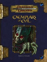 Dungeons & Dragons D&D 3rd Edition Exemplars of Evil Role...