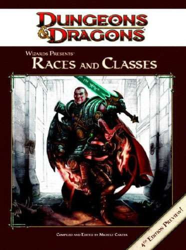 Dungeons & Dragons D&D 4th Edition Races & Classes