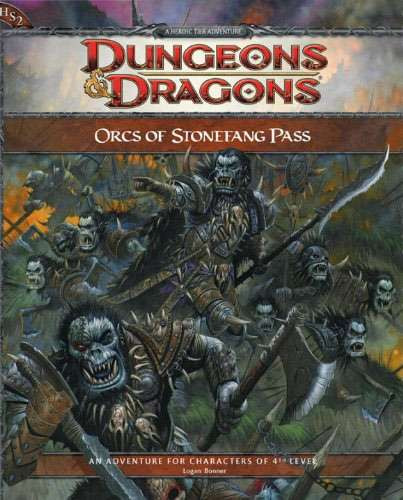 Dungeons & Dragons D&D 3rd Edition Orcs of Stonefang Pass...