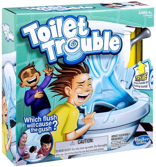 Hasbro Toilet Trouble Board Game