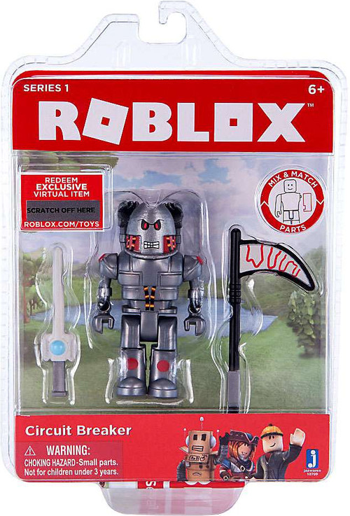 Roblox Series 1 Circuit Breaker Mini Action Figure