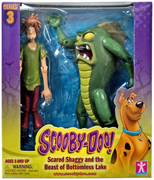 Scooby Doo Series 3 Scared Shaggy & The Beast of Bottomle...