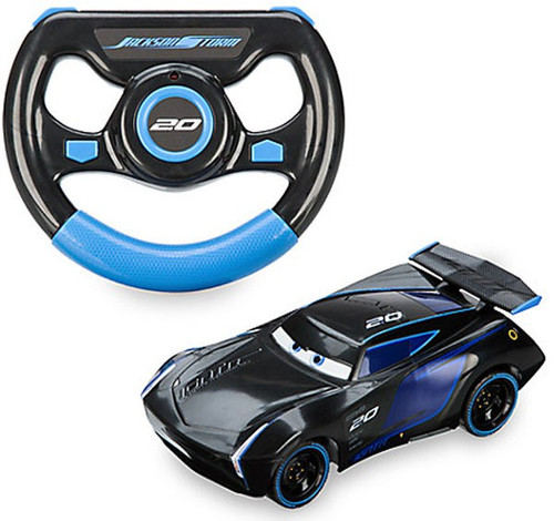 Disney cars cars 3 jackson storm exclusive rc vehicle for Three jackson toy