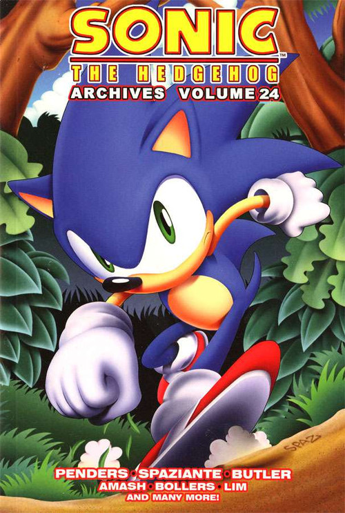 Sonic The Hedgehog Archives Volume 24 Trade Paperback