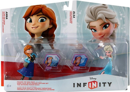 Disney Frozen Disney Infinity Anna & Elsa Game Figure 2-Pack