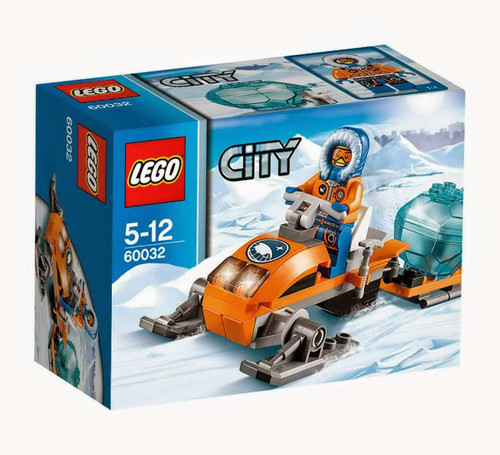 LEGO City Arctic Snowmobile Set #60032 [Damaged Package]
