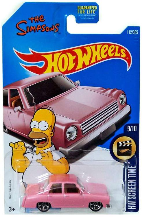 Mattel Hot Wheels HW Screen Time The Simpsons Family Car ...